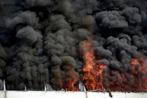 brand winkelcentrum