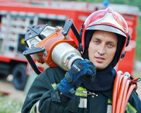 brandweer checkt melding