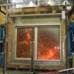Brandwerendheid testen in een oven