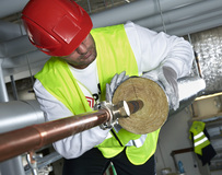 Isolatie HVAC-installatie