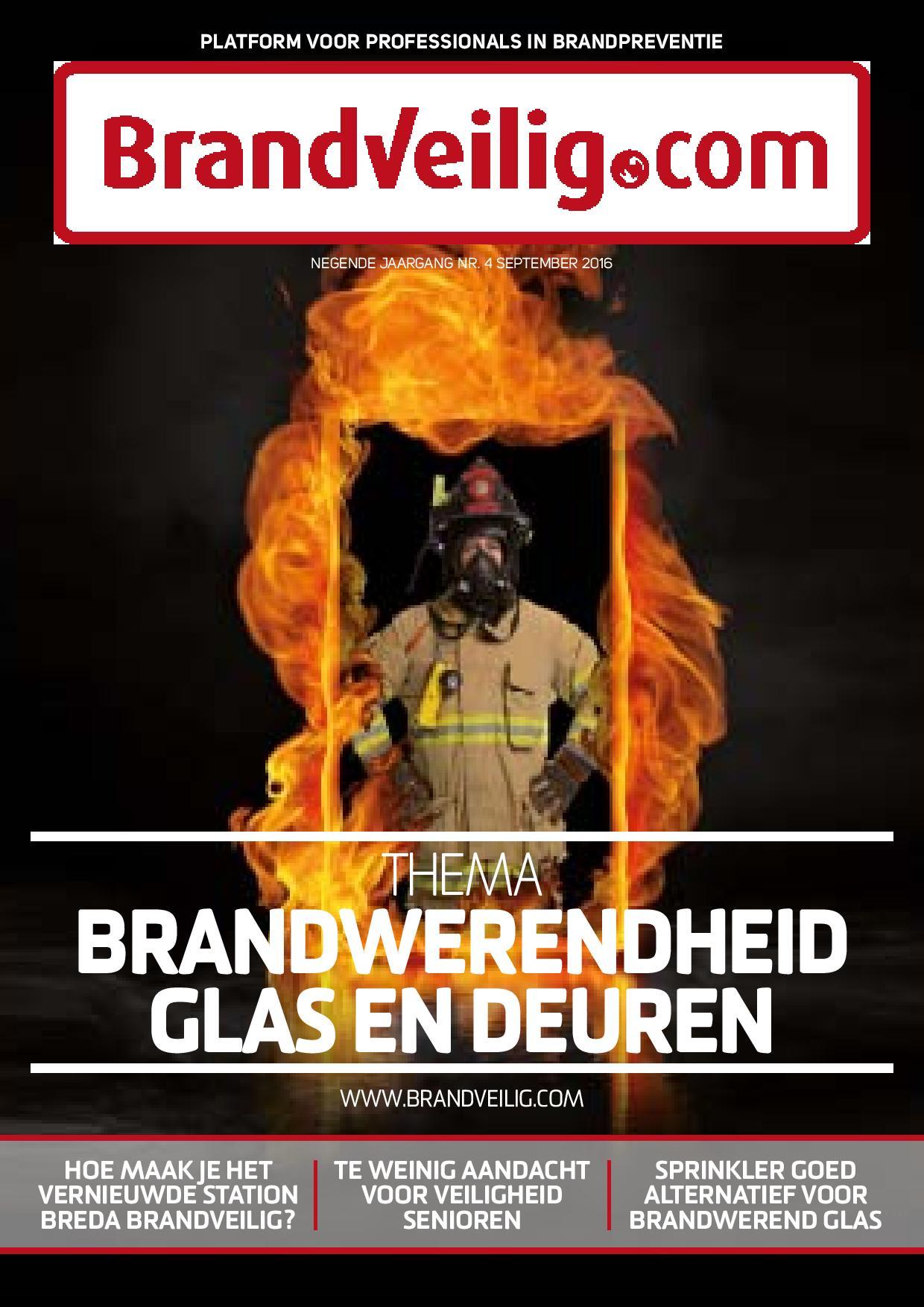 Brandveilig.com over Brandwerendheid glas en deuren