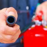 Beperken van de schade brand bij recyclingbedrijven