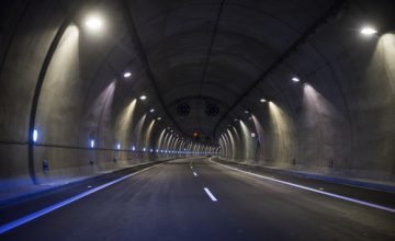 brandveilige tunnel