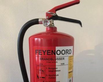 Feyenoord-brandblusser