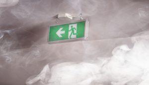 Rook en warmte afvoer