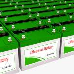 Lithium-batterij