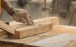 Stofexplosie houtindustrie
