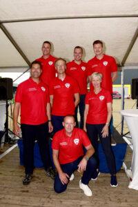 Kwartiermaker Ilone Blaauw met de inmiddels aangestelde teamleiders
