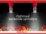 Whitepaper Optimaal werkende sprinklers