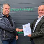 MEB-certificaat voor Totaal Aanpak Brandveiligheid